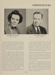 Page 16, 1953 Edition, University of Delaware - Blue Hen Yearbook (Newark, DE) online yearbook collection