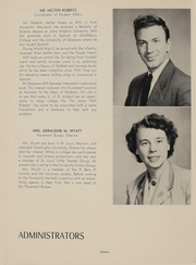 Page 17, 1953 Edition, University of Delaware - Blue Hen Yearbook (Newark, DE) online yearbook collection