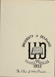 Page 2, 1953 Edition, University of Delaware - Blue Hen Yearbook (Newark, DE) online yearbook collection