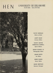 Page 4, 1953 Edition, University of Delaware - Blue Hen Yearbook (Newark, DE) online yearbook collection