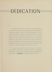 Page 6, 1953 Edition, University of Delaware - Blue Hen Yearbook (Newark, DE) online yearbook collection