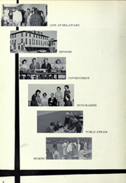 Page 8, 1961 Edition, University of Delaware - Blue Hen Yearbook (Newark, DE) online yearbook collection