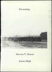 Page 5, 1972 Edition, Stevens Mason Middle School - Mariner Yearbook (Waterford, MI) online yearbook collection