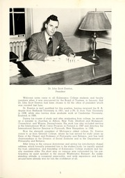 Page 9, 1949 Edition, Kalamazoo College - Boiling Pot Yearbook (Kalamazoo, MI) online yearbook collection