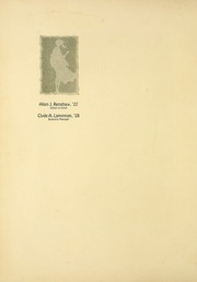 Page 10, 1927 Edition, Albion College - Albionian Yearbook (Albion, MI) online yearbook collection