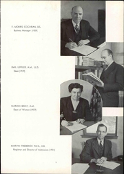 Page 15, 1944 Edition, Albion College - Albionian Yearbook (Albion, MI) online yearbook collection