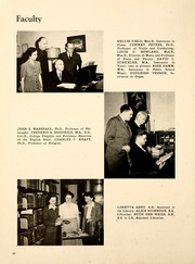 Page 14, 1946 Edition, Albion College - Albionian Yearbook (Albion, MI) online yearbook collection