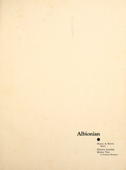 Page 5, 1946 Edition, Albion College - Albionian Yearbook (Albion, MI) online yearbook collection