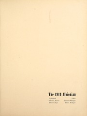 Page 5, 1949 Edition, Albion College - Albionian Yearbook (Albion, MI) online yearbook collection