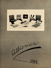 Page 7, 1949 Edition, Albion College - Albionian Yearbook (Albion, MI) online yearbook collection
