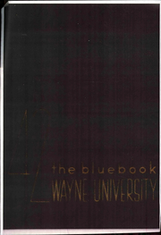 Page 1, 1942 Edition, Wayne State University - Griffin Yearbook (Detroit, MI) online yearbook collection