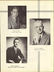 Page 11, 1950 Edition, Wayne State University - Griffin Yearbook (Detroit, MI) online yearbook collection