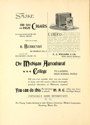 Page 6, 1898 Edition, Lansing Central High School - Oracle Yearbook (Lansing, MI) online yearbook collection