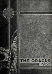 Page 1, 1933 Edition, Lansing Central High School - Oracle Yearbook (Lansing, MI) online yearbook collection