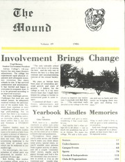 Page 1, 1986 Edition, Adrian College - Mound Yearbook (Adrian, MI) online yearbook collection