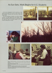 Page 6, 1986 Edition, Adrian College - Mound Yearbook (Adrian, MI) online yearbook collection
