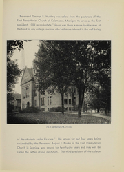 Page 13, 1938 Edition, Alma College - Scotsman Yearbook (Alma, MI) online yearbook collection