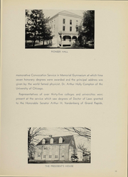 Page 17, 1938 Edition, Alma College - Scotsman Yearbook (Alma, MI) online yearbook collection