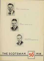 Page 3, 1938 Edition, Alma College - Scotsman Yearbook (Alma, MI) online yearbook collection