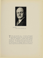 Page 9, 1938 Edition, Alma College - Scotsman Yearbook (Alma, MI) online yearbook collection