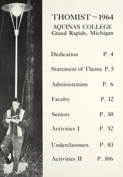 Page 5, 1964 Edition, Aquinas College - Thomist Yearbook (Grand Rapids, MI) online yearbook collection