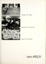 Page 7, 1960 Edition, Calvin College - Prism Yearbook (Grand Rapids, MI) online yearbook collection