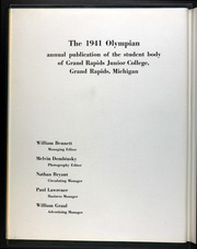 Page 6, 1941 Edition, Grand Rapids Community College - Olympian Yearbook (Grand Rapids, MI) online yearbook collection