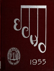1955 Edition, Kuyper College - Echo Yearbook (Grand Rapids, MI)