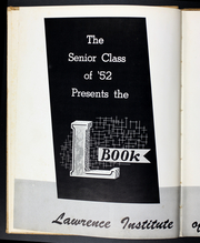 Page 6, 1952 Edition, Lawrence Technological University - L Book Yearbook (Southfield, MI) online yearbook collection