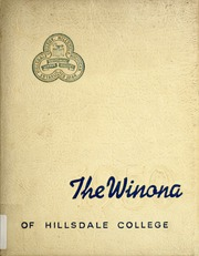Page 1, 1950 Edition, Hillsdale College - Winona Yearbook (Hillsdale, MI) online yearbook collection