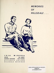 Page 5, 1950 Edition, Hillsdale College - Winona Yearbook (Hillsdale, MI) online yearbook collection