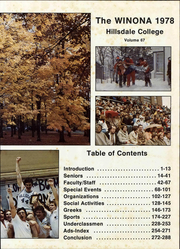 Page 7, 1978 Edition, Hillsdale College - Winona Yearbook (Hillsdale, MI) online yearbook collection