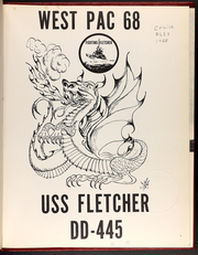Page 5, 1968 Edition, Fletcher (DD 445) - Naval Cruise Book online yearbook collection