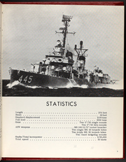 Page 7, 1968 Edition, Fletcher (DD 445) - Naval Cruise Book online yearbook collection