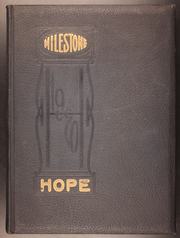 Page 1, 1920 Edition, Hope College - Milestone Yearbook (Holland, MI) online yearbook collection