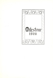 Page 5, 1926 Edition, Hope College - Milestone Yearbook (Holland, MI) online yearbook collection