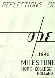 Page 6, 1946 Edition, Hope College - Milestone Yearbook (Holland, MI) online yearbook collection