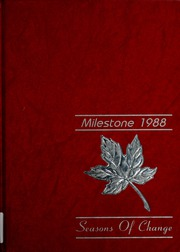Page 1, 1988 Edition, Hope College - Milestone Yearbook (Holland, MI) online yearbook collection