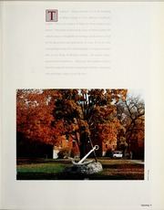 Page 9, 1988 Edition, Hope College - Milestone Yearbook (Holland, MI) online yearbook collection