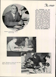 Page 12, 1949 Edition, Central Michigan University - Chippewa Yearbook (Mount Pleasant, MI) online yearbook collection