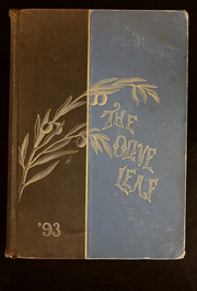 1893 Edition, Olivet College - Oaks Yearbook (Olivet, MI)