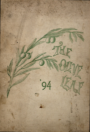 1894 Edition, Olivet College - Oaks Yearbook (Olivet, MI)