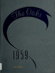 1959 Edition, Olivet College - Oaks Yearbook (Olivet, MI)