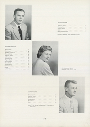 Page 16, 1955 Edition, Crystal High School - Crystalite Yearbook (Crystal, MI) online yearbook collection