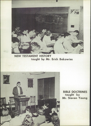 Page 16, 1959 Edition, Battle Creek Academy - Bacre Vie Yearbook (Battle Creek, MI) online yearbook collection