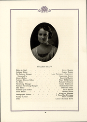 Battle Creek Sanitarium School of Home Economics - Nucleus Yearbook (Battle Creek, MI) online yearbook collection, 1922 Edition, Page 50