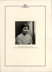 Battle Creek Sanitarium School of Home Economics - Nucleus Yearbook (Battle Creek, MI) online yearbook collection, 1922 Edition, Page 7