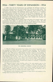 Page 11, 1954 Edition, Michigan Technological University - Keweenawan Yearbook (Houghton, MI) online yearbook collection