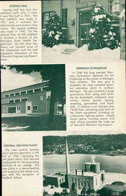 Page 13, 1954 Edition, Michigan Technological University - Keweenawan Yearbook (Houghton, MI) online yearbook collection