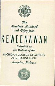 Page 5, 1954 Edition, Michigan Technological University - Keweenawan Yearbook (Houghton, MI) online yearbook collection